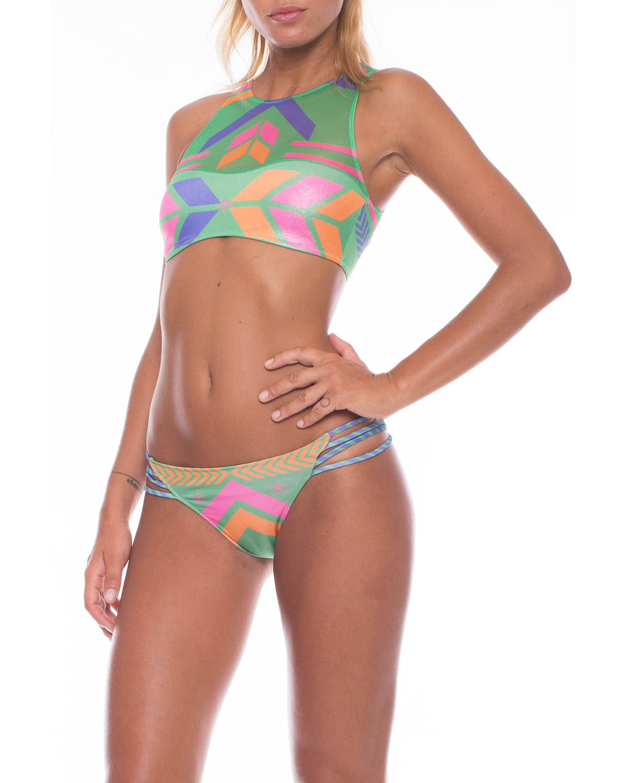 Bikini Pin-up Stars fantasia Navajo Verde