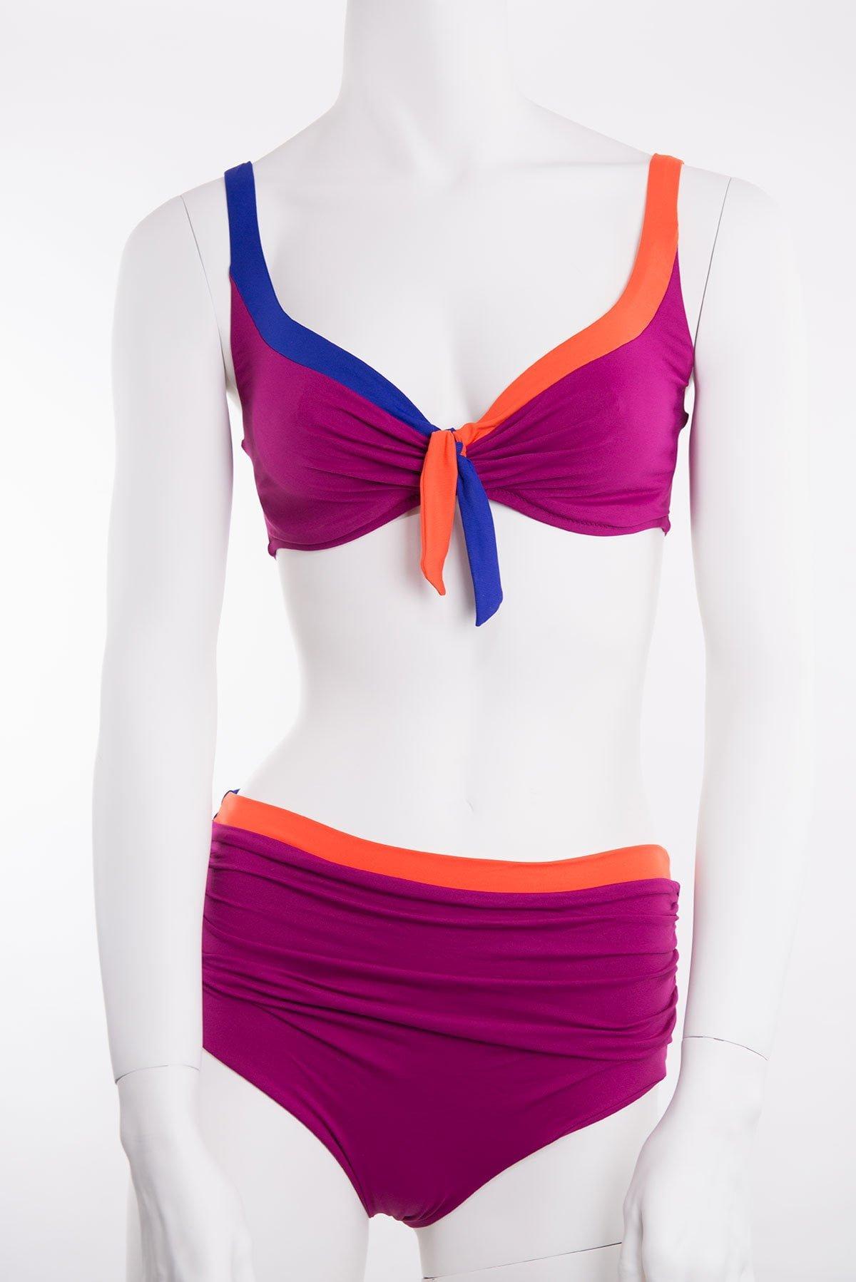 Costume 2 pezzi bikini e costumi coppa c d e cima collection for Costume piscina 2 pezzi