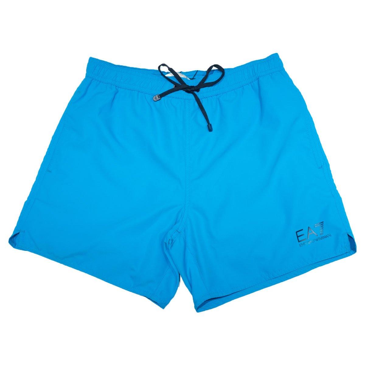 purchase cheap e545b 87484 Costume EA7 corto turchese - Emporio Armani