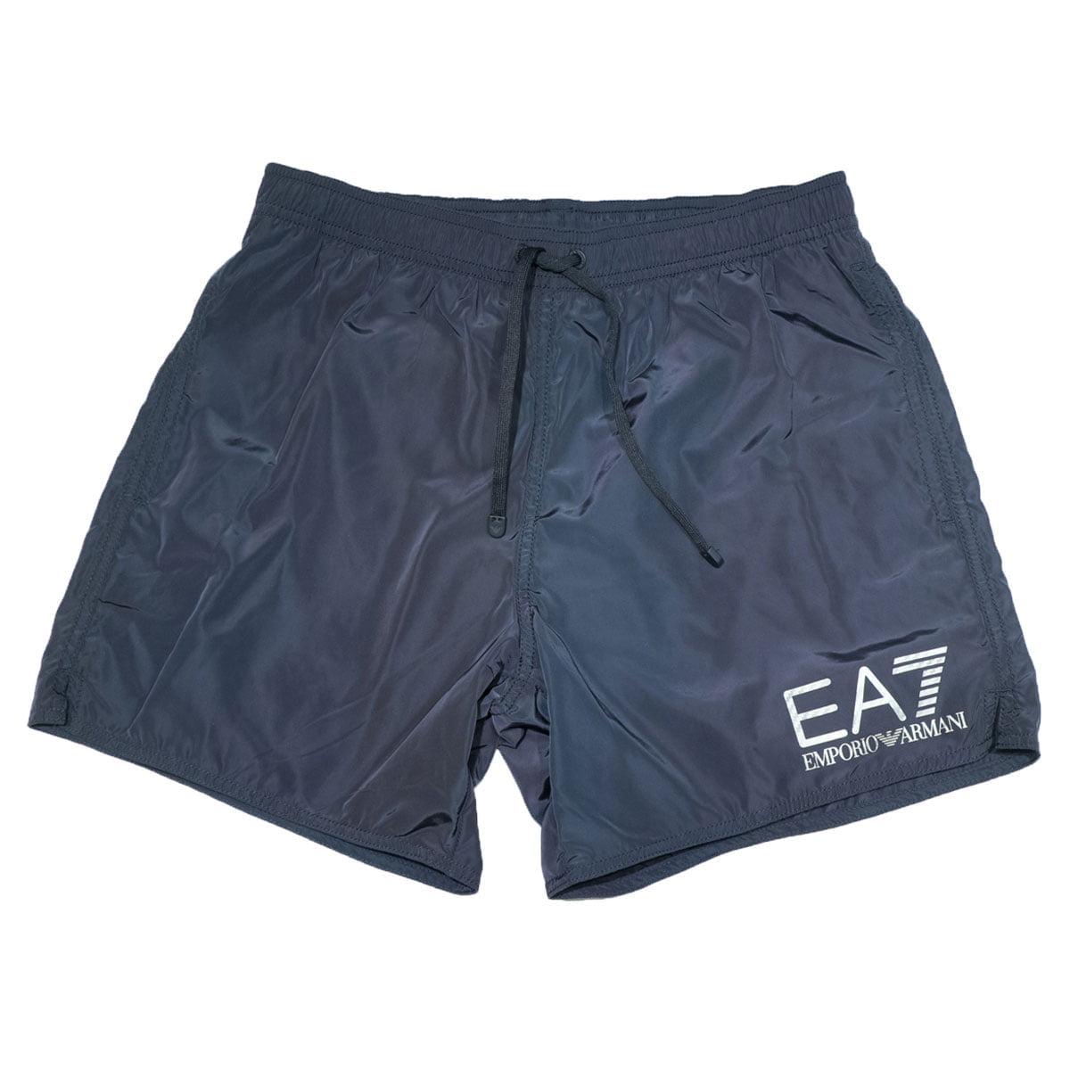 hot sale online 02676 8bc8d Costume EA7 corto dark blu - Emporio Armani