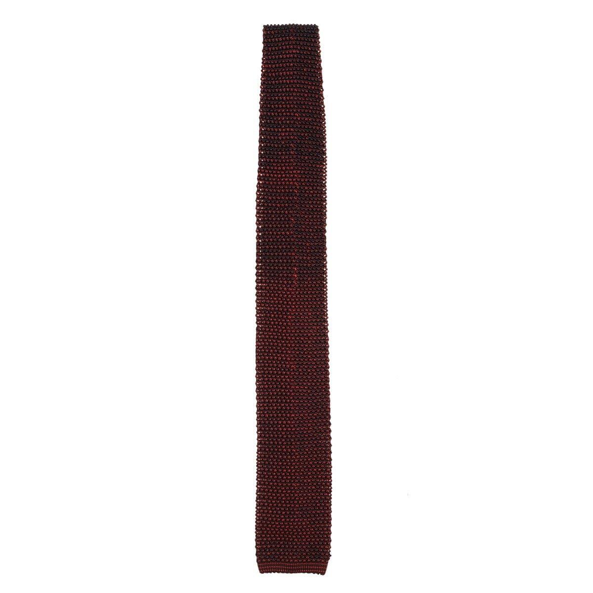 best service f54f9 e41e5 Cravatta Gallo seta grana di riso cangiante blu/mattone