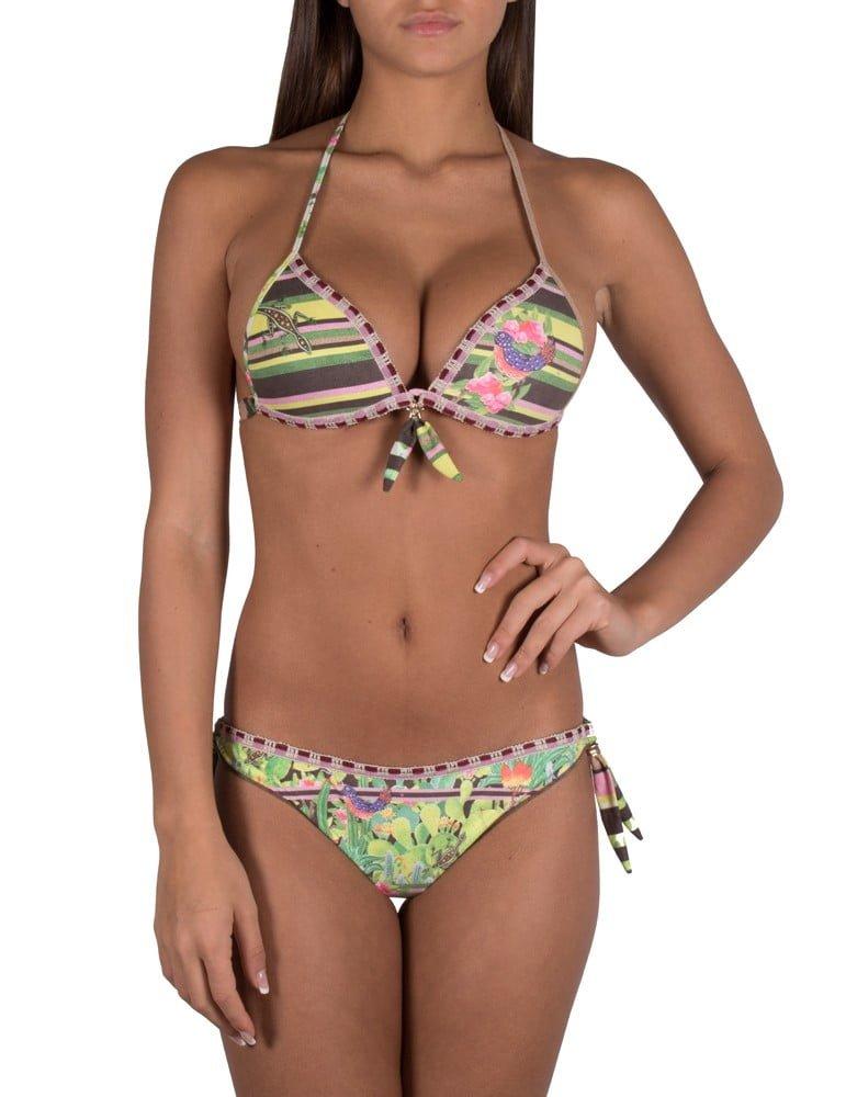 Bikini Pin-Up Stars Tropical Cactus rosa