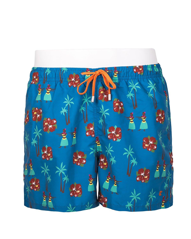 Costume uomo gallo hawaiano blu costumi gallo online 2017 - Costumi da bagno uomo bikkembergs ...