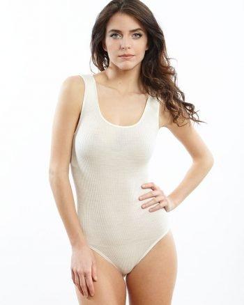 Body Oscalito lana e seta
