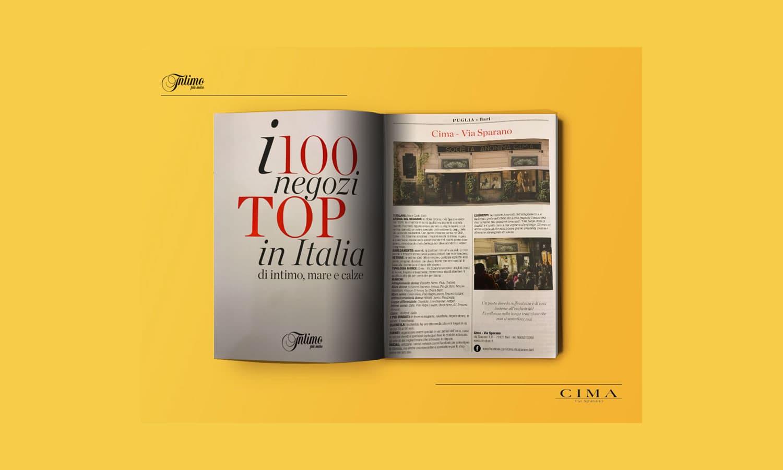 Cima è il miglior negozio di intimo in Puglia e nella top 100 Italia