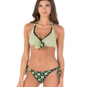 Bikini Anjuna stampa esclusiva fiocco al seno