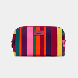 Gallo Pochette a Bauletto Unisex in poliestere fantasia righe multicolor